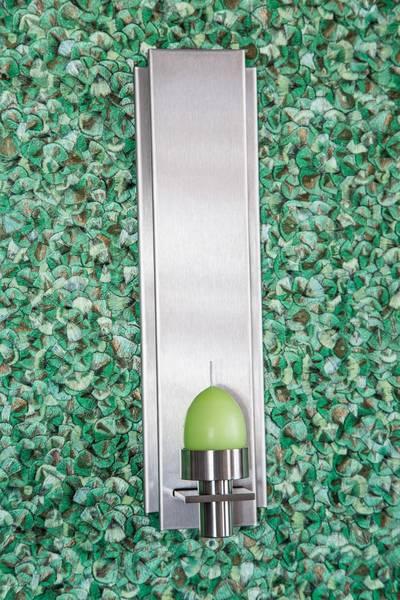 wandhalter kerzen edelstahl buhlan metall design gmbh. Black Bedroom Furniture Sets. Home Design Ideas